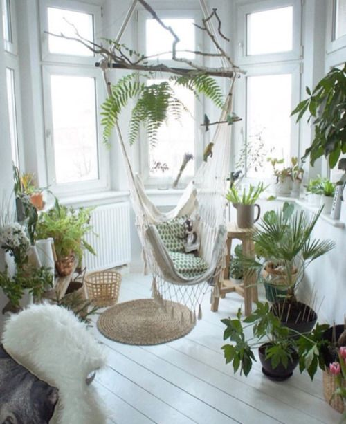9 Inspirational Indoor Gardens And Plant-Filled Spaces! | on bathroom filled with plants, bedroom filled with plants, house full of plants, house books,
